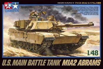 1/48 Американский танк M1A2 Abrams, с одной фигурой