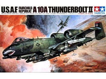"1/48 Fairchild Republic A-10A ""Thunderbold II"""