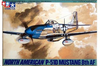 1/48 N.A. P-51D Mustang 8th AF