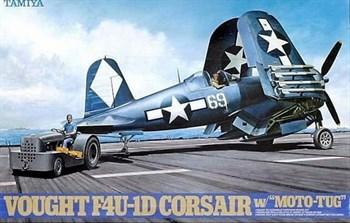 "1/48 Vought F4U-1D Corsair w/""Moto Tug"""