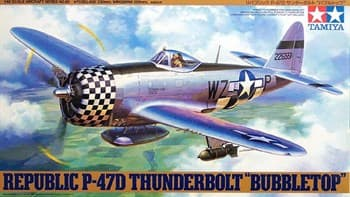 "1/48 P-47D Thunderbolt ""Bubbletop"""