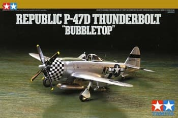 "1/72 Republic P-47D Thunderbolt ""Bubbletop"""