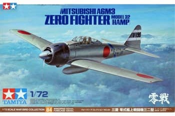 1/72 Mitsubishi A6M3 Zero Fighter