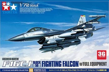 1/72 F-16 CJ Fighting Falcon w/Full Equipment НОВИНКА!!!
