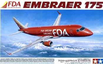 1/100 Embraer 175 - Fuji Dream Airlines, НОВИНКА!!!  Впервые Тамия выпустила пассажирский самолет.