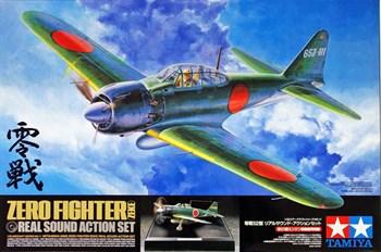 1/32 Mitsubishi A6M5 Zero Fighter - Real Sound Action (с точным воспроизведением звука двигателя и бортовым светом). Ограниченный выпуск!!!