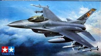 1/32 F-16CJ Fighting Falcon, подставка