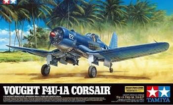 1/32 F-4U-1A Corsair с набором фототравления, и подставкой
