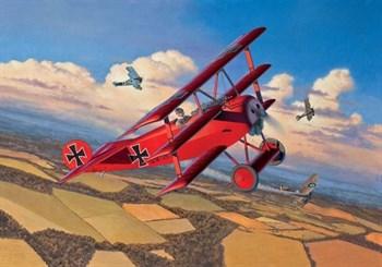 Самолёт  Fokker Dr. 1 (1:48)