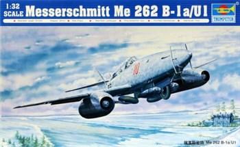 Самолёт  Messerschmitt Me 262 B-1a/U1 (1:72)