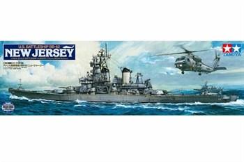 1/350 линкор New Jersey, НОВАЯ МОДЕЛЬ с набором фототравления, новыми пушками, радарами и другими надстройками.