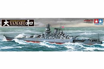 1/350 линкор Yamato, НОВАЯ МОДЕЛЬ с новыми пушками, радарами и другими надстройками.