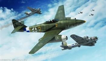 Самолет  Мессершмитт Me 262 A (1:72)