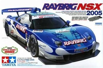 1/24 Raybrig NSX 2005 с набором фототравления.