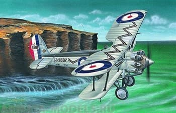 Самолёт  Bristol Bulldog (1:48)