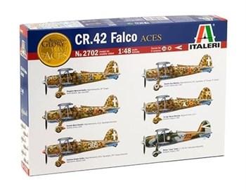 Самолёт  Fiat C.R.42 FALCO (1:48)