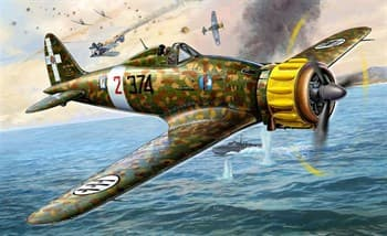Самолёт  Macchi M.C. 200 Saetta (1:48)