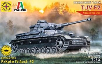 Немецкий Танк Т-Iv F2  (1:72)