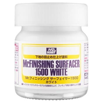 (!) Грунтовка MR.FINISHING SURFACER 1500 WHITE 40мл
