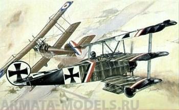 Самолёт  Fokker Dr.I (1:72)