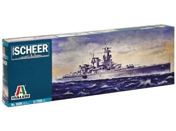 Корабль  ADMIRAL SCHEER  (1:720)
