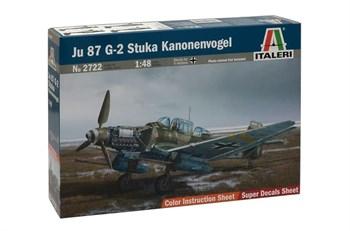 Самолет  Ju 87 G-2 Stuka Kanonenvogel  (1:48)