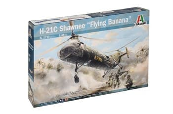 "Самолёт  H-21C Shawnee ""Flying Banana""  (1:48)"