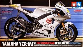 1/12 YZR-M1 09 Fiat Yamaha Team - Estoril Edition, Valentino Rossi