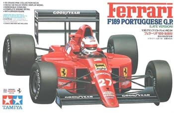 1/20 Ferrari F189 Potuguese