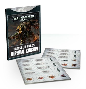 Datasheets: Imperial Knights (english)