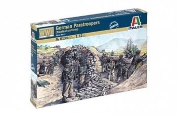 Солдаты  Wwii-  German Paratroopers (TROPICAL Uniform)    (1:72)
