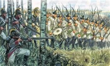 Солдаты  Austrian Infantry 1798-1805 Napoleonic Wars  (1:72)