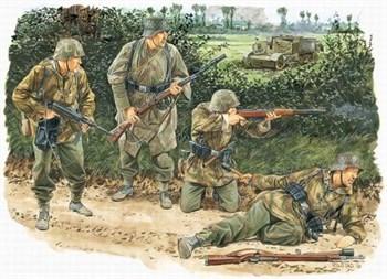 Фигуры Kampfgruppe von Luck (Normandy 1944) (1:35)