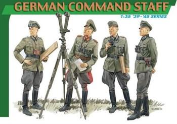 Сборная модель Фигуры  German Command Staff (1:35) Dragon