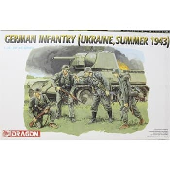 Фигуры  German Infantry (Ukraine, Summer 1943)  (1:35)