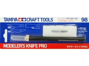 Модельный ножик (PRO) с 7-ю лезвиями разной формы ( 3-прямых, 2-закругленных и 2-стамесочки)
