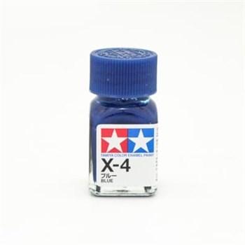 (!) X-4 Blue (Синяя) краска эмалевая 10 мл.