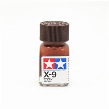 (!) Х-9 Brown (Коричневая) краска эмалевая 10 мл.
