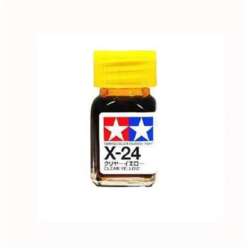 (!) X-24 Clear Yellow Tamiya
