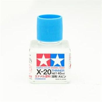 (!) Х-20 растворитель 40мл для эмали