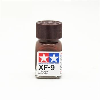 (!) XF-9 Hull Red - краска эмаль 10мл.