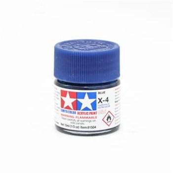 (!) Х-4 Blue (Синяя) краска акрил. 10мл.