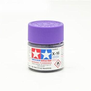 (!) X-16 Purple краска акрил. 10мл.