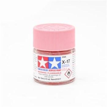 (!) Х-17 Pink (Розовая) акриловая 10мл