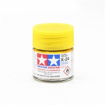 (!) X-24 Clear (прозрачная желтая) Yellow 10 мл