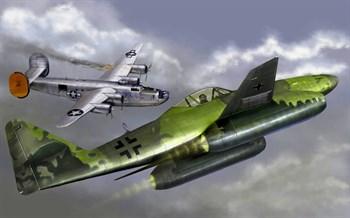 Самолет  Мессершмитт Me-262 В-1a/U1 (1:32)