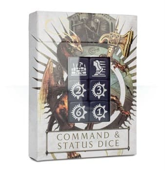 Age Of Sigmar: Command & Status Dice