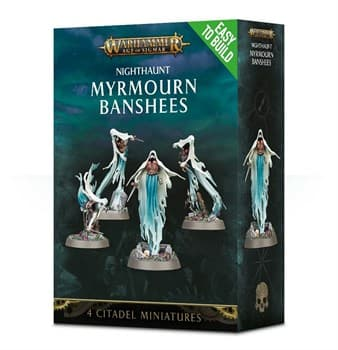 Easy To Build: Nighthaunt Myrmourn Banshees