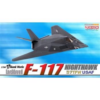 Самолёт Lockheed F-117 Nighthawk, 37th TFW, USAF  (1:144)