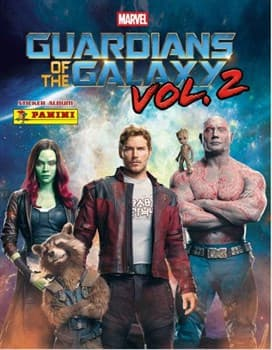 Бустер наклеек Panini Guardians of the Galaxy Vol. 2
